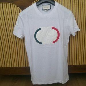Gucci men white tshirt